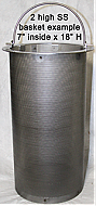 True Pre-filter Stainless Steel Basket
