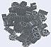 Bio Wave Sinking Media, 1 cubic foot, Black, 10 lbs