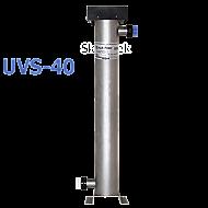 "UVS-40 Wave Power SS UV,119 Watt, Ho, 6"" Body, 2"" Ports"