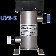 "UVS-05 Wave Power SS UV,36 Watt, Ho, 6"" Body, 2"" Ports"